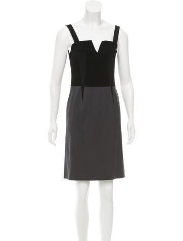 Narciso Rodriguez Wool Sleeveless Dress None