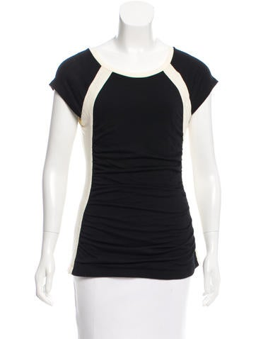 Narciso Rodriguez Wool Short Sleeve Top w/ Tags None