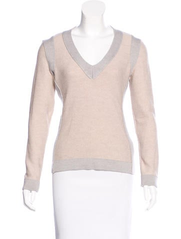 Narciso Rodriguez Colorblock Wool Sweater None