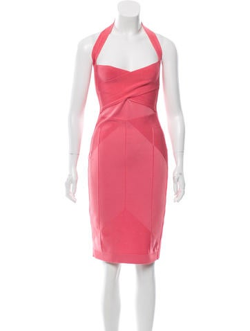 Narciso Rodriguez Halter Bandage Dress None