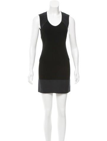Narciso Rodriguez Wool Mini Dress None