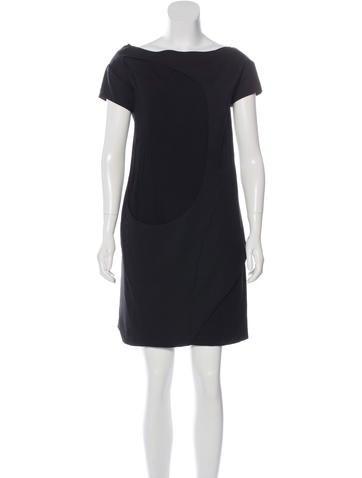 Narciso Rodriguez Cutout Wool Dress None