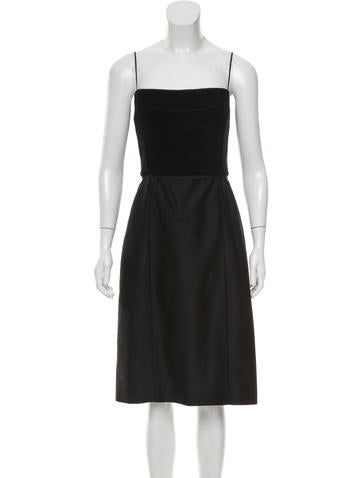 Narciso Rodriguez Wool Midi Dress None