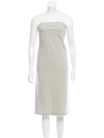 Narciso Rodriguez Wool & Angora-Blend Strapless Dress None