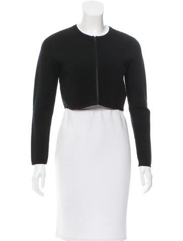 Narciso Rodriguez Wool Cropped Jacket None