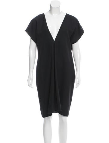 Narciso Rodriguez Oversize Wool Dress None
