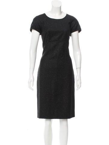 Narciso Rodriguez Wool Midi Dress None