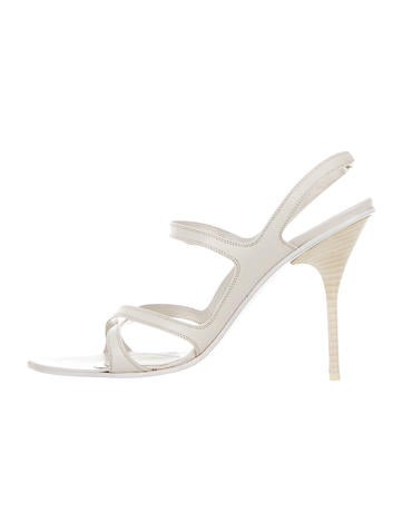 Narciso Rodriguez Leather Multistrap Sandals None
