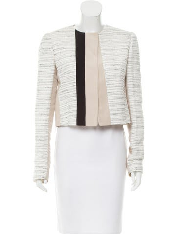 Narciso Rodriguez Tweed Jacket None