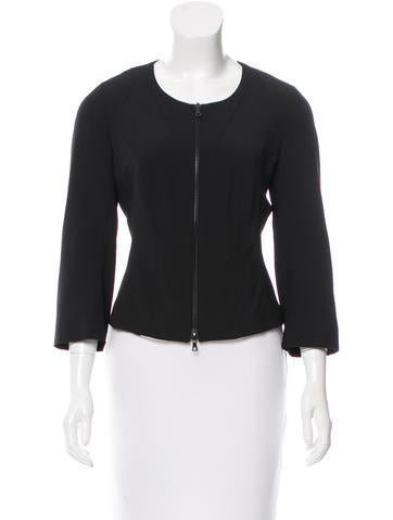 Narciso Rodriguez Virgin Wool Structured Jacket None