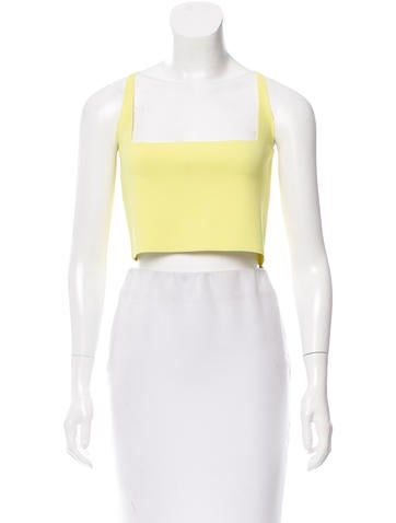 Narciso Rodriguez Sleeveless Cropped Top None