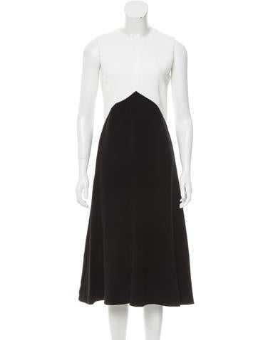 Narciso Rodriguez Colorblock Midi Dress w/ Tags None