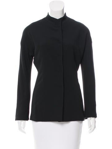 Narciso Rodriguez Oriental Style Top None