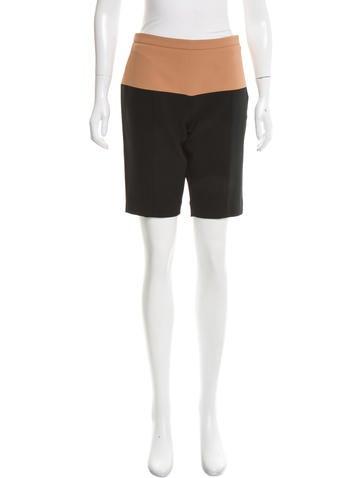 Narciso Rodriguez Colorblock Knee-Length Shorts None