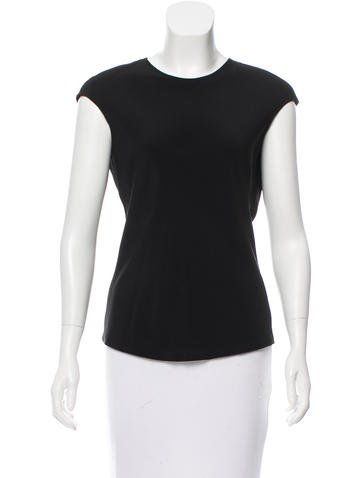 Narciso Rodriguez Short Sleeve Cutout Top w/ Tags None