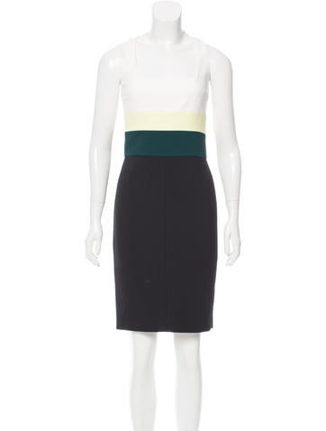 Narciso Rodriguez Striped Knee-Length Dress None