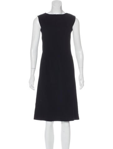 Narciso Rodriguez Sleeveless Wool-Blend Dress None