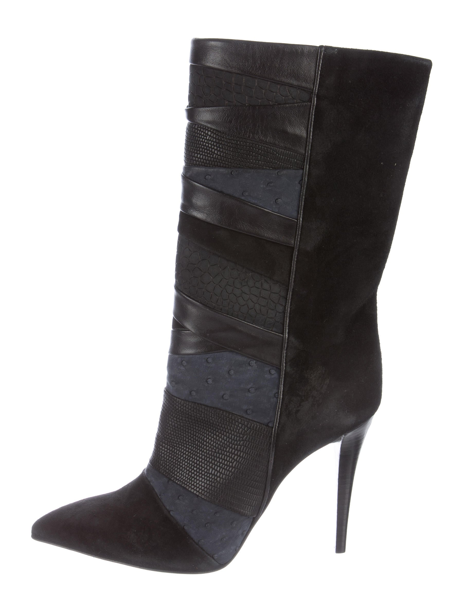 Suede Pointy Toe Ankle Boot - Weekday to weekend, this pointy-toe ankle boot shaped from soft suede gets the job done.