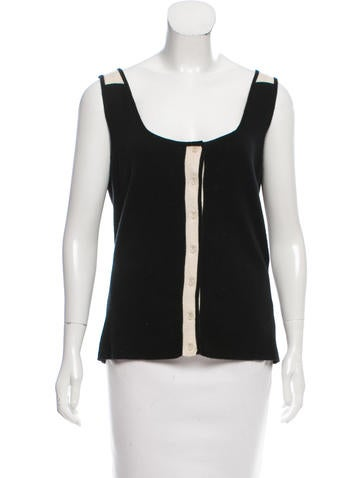 Narciso Rodriguez Cashmere Knit Top None