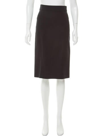 Narciso Rodriguez Knee-Length Pencil Skirt None