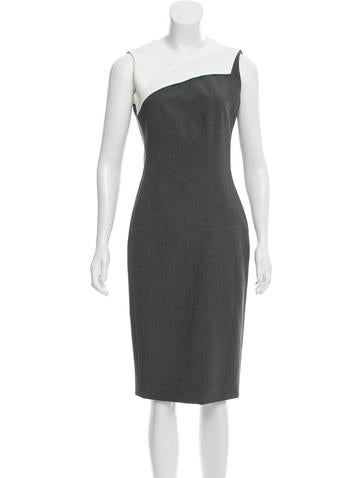 Narciso Rodriguez Sleeveless Midi Dress w/ Tags None