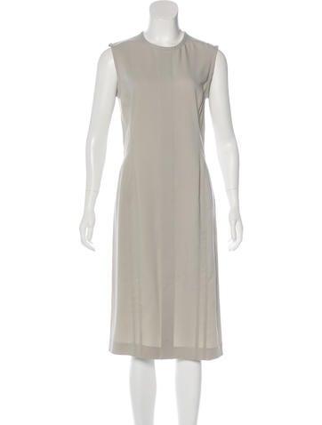 Narciso Rodriguez Virgin Wool & Silk-Blend Dress None