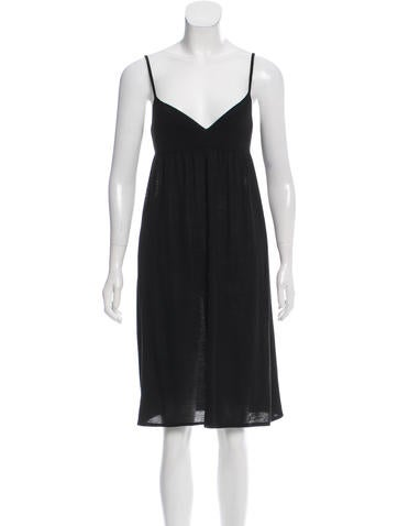 Narciso Rodriguez Wool Knit Dress None