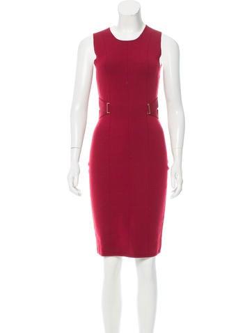 Narciso Rodriguez Sleeveless Knee-Length Dress None