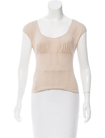 Narciso Rodriguez Sleeveless Crop Top None