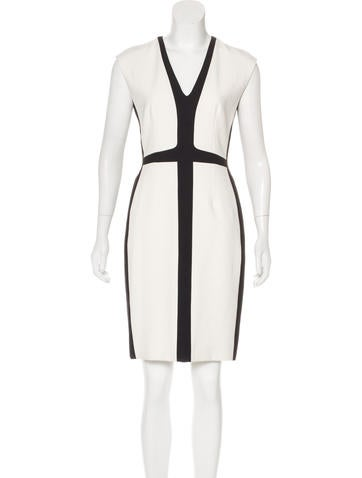 Narciso Rodriguez Colorblock Mini Dress None