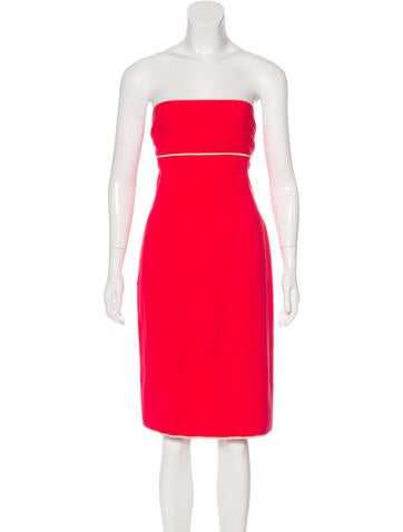 Narciso Rodriguez Sleeveless Mini Dress None