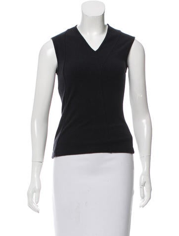 Narciso Rodriguez Wool-Blend Knit Top None