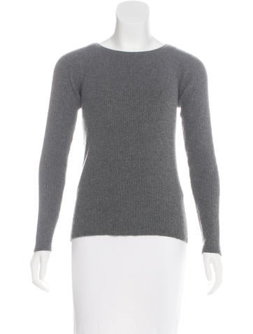 Narciso Rodriguez Wool-Blend Rib Knit Sweater None