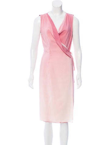 Narciso Rodriguez Sleeveless Ombré Dress None
