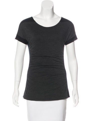 Narciso Rodriguez Wool Knit Top None