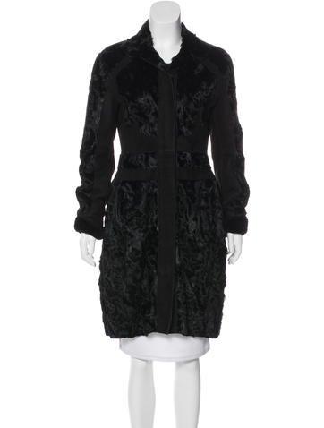 Narciso Rodriguez Paneled Fur Coat None