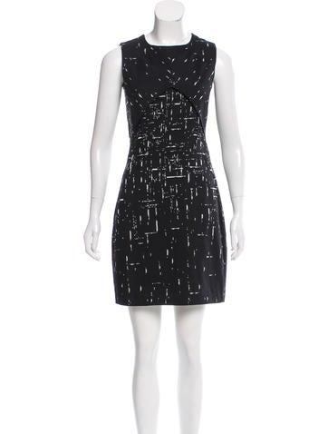 Narciso Rodriguez Sleeveless Knit Mini Dress None