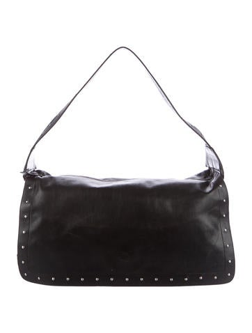 Narciso Rodriguez Studded Leather Shoulder Bag None