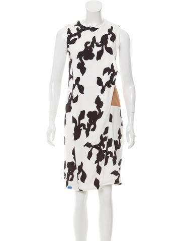 Narciso Rodriguez Printed Knee-Length Dress None