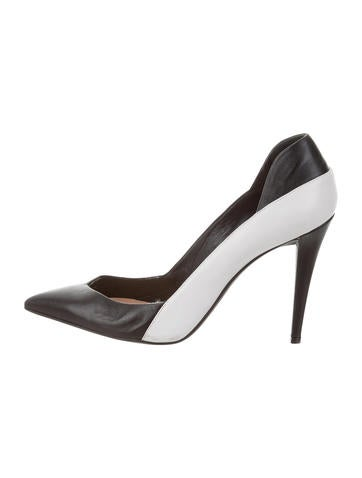 Narciso Rodriguez Colorblock Pointed-Toe Pumps None