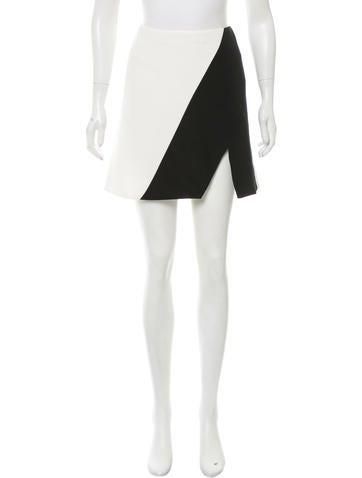 Narciso Rodriguez Colorblock Mini Skirt None