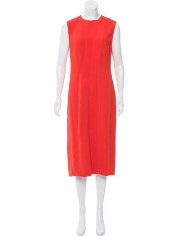 Narciso Rodriguez Sleeveless Knit Midi Dress None