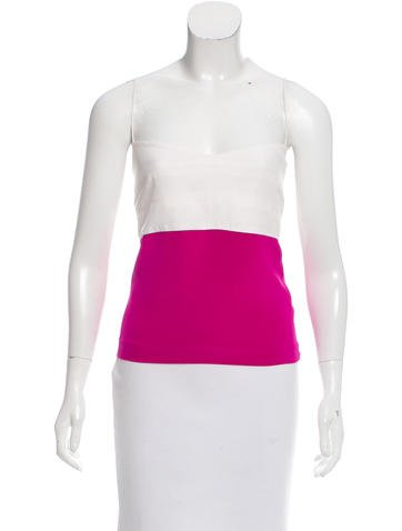 Narciso Rodriguez Sleeveless Colorblock Top None