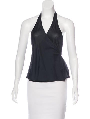 Narciso Rodriguez Sleeveless Wrap Top None
