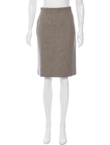 Narciso Rodriguez Virgin Wool Knee-Length Skirt None