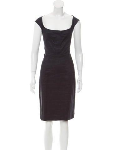 Narciso Rodriguez Sleeveless Knit Dress None