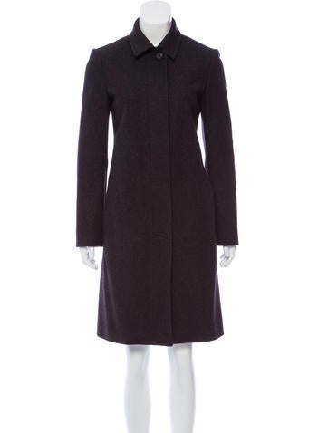 Narciso Rodriguez Structured Knee-Length Coat None