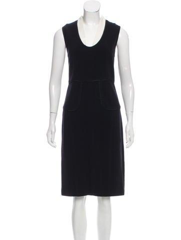 Narciso Rodriguez Virgin Wool Midi Dress None
