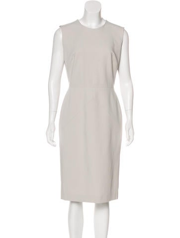 Narciso Rodriguez Sleeveless Midi Dress None
