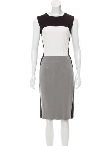 Narciso Rodriguez Colorblock Midi Dress None